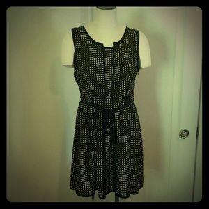 Vintage 50's Silk Midi Dress